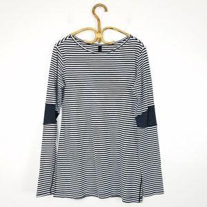 Lululemon Devotion Long sleeve Black White Stripe